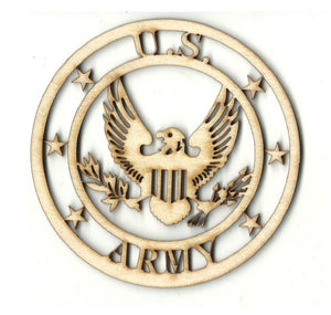 Army - Laser Cut Wood Shape Usa31 Craft Supply