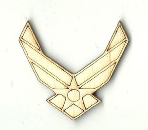 Air Force - Laser Cut Wood Shape Usa40 Craft Supply