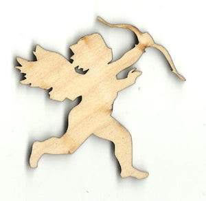 Cupid - Laser Cut Wood Shape Val1 Craft Supply