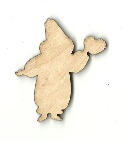 Clown With Heart - Laser Cut Wood Shape Val26 Craft Supply