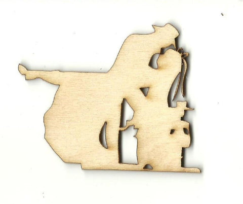 Bride And Groom - Laser Cut Wood Shape Wdg20 Craft Supply