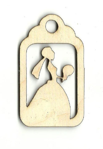 Gift Tag - Laser Cut Wood Shape Wdg15 Craft Supply