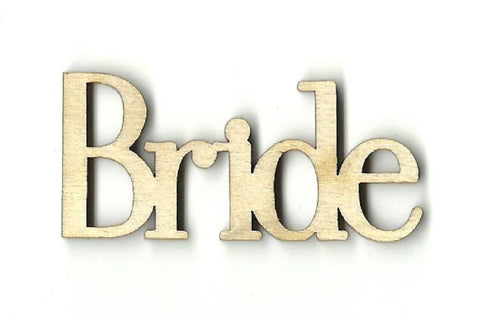 Bride - Laser Cut Wood Shape Wdg12 Craft Supply