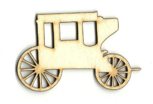 Carriage - Laser Cut Wood Shape Wgn10 Craft Supply