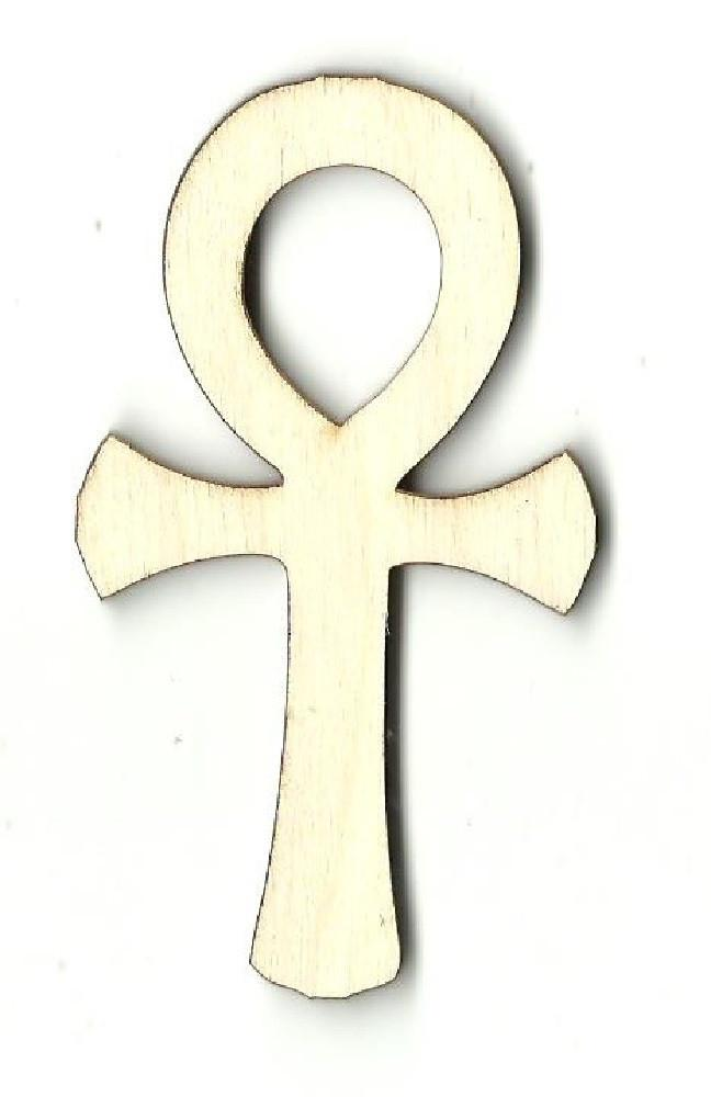 Ankh - Laser Cut Wood Shape Wld11 Craft Supply