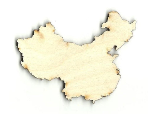China - Laser Cut Wood Shape Wld14 Craft Supply