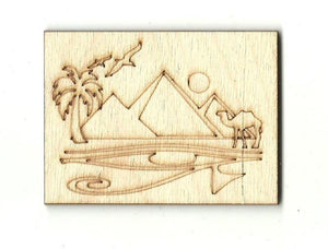 Egyptian Picture - Laser Cut Wood Shape Wld29 Craft Supply