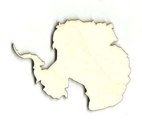 Antarctica - Laser Cut Wood Shape Wld9 Craft Supply