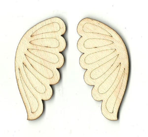 Wings - Laser Cut Wood Shape Wng10 Craft Supply