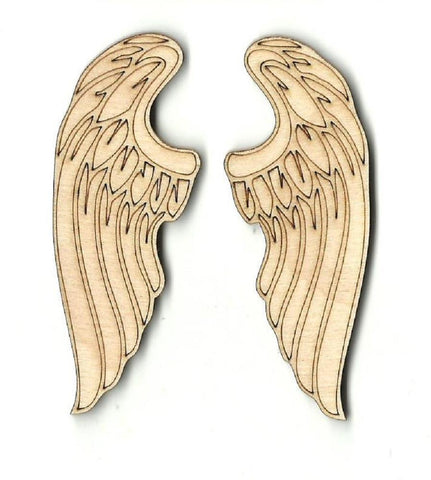Wings - Laser Cut Wood Shape Wng1 Craft Supply