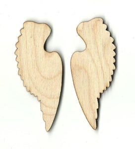 Wings - Laser Cut Wood Shape Wng3 Craft Supply