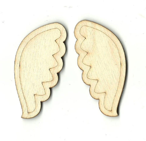 Wings - Laser Cut Wood Shape Wng7 Craft Supply