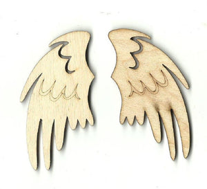 Wings - Laser Cut Wood Shape Wng8 Craft Supply