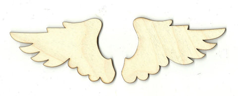 Wings - Laser Cut Wood Shape Wng9 Craft Supply