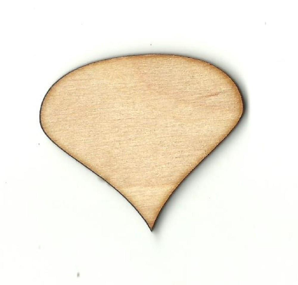 Comic Word Bubble - Laser Cut Wood Shape Wrd86 Craft Supply