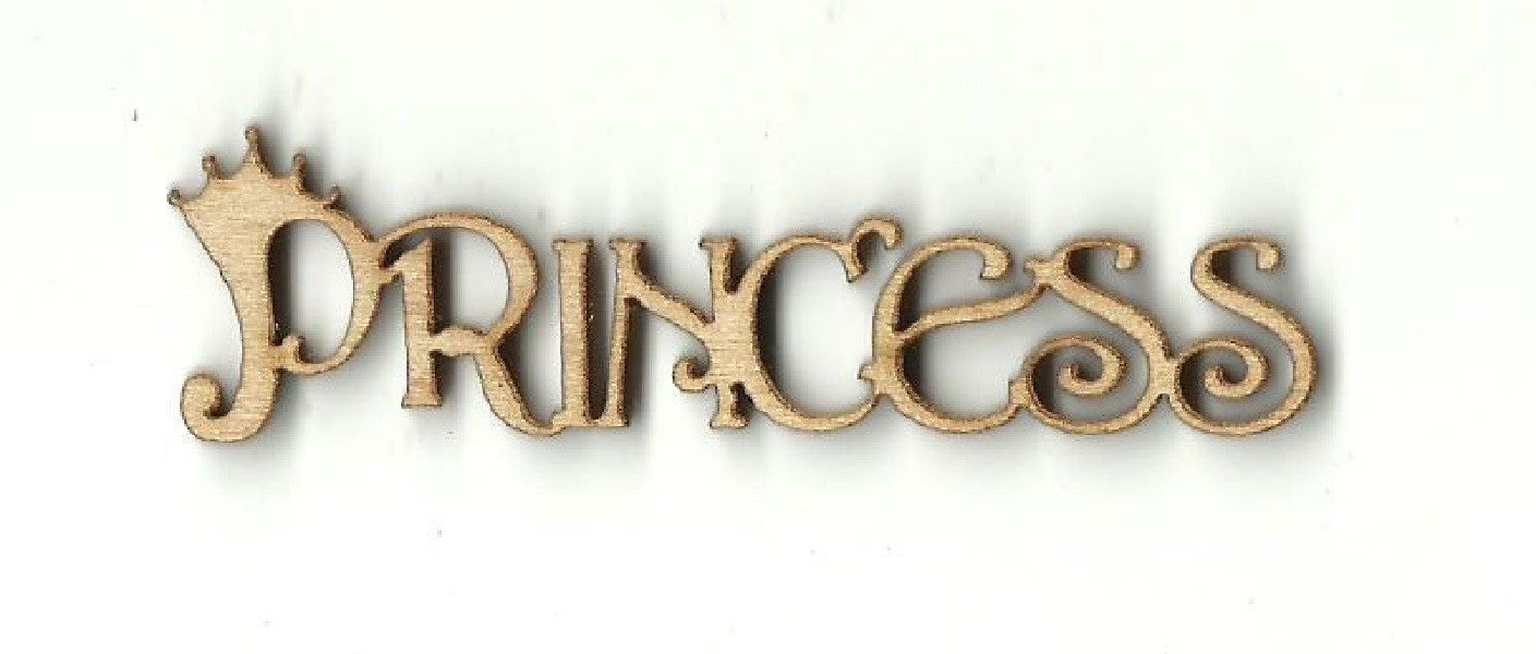 Princess - Laser Cut Wood Shape Wrd25 Craft Supply