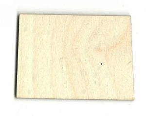 Wyoming Us State - Laser Cut Wood Shape Craft Supply