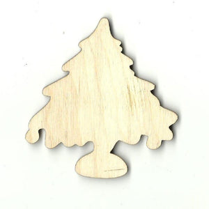 Christmas Tree - Laser Cut Wood Shape Xms117 Craft Supply