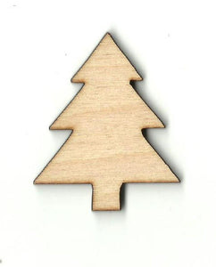 Christmas Tree - Laser Cut Wood Shape Xms125 Craft Supply