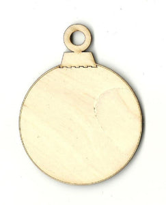 Christmas Ornament - Laser Cut Wood Shape Xms159 Craft Supply