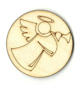 Angel - Laser Cut Wood Shape Xms17 Craft Supply