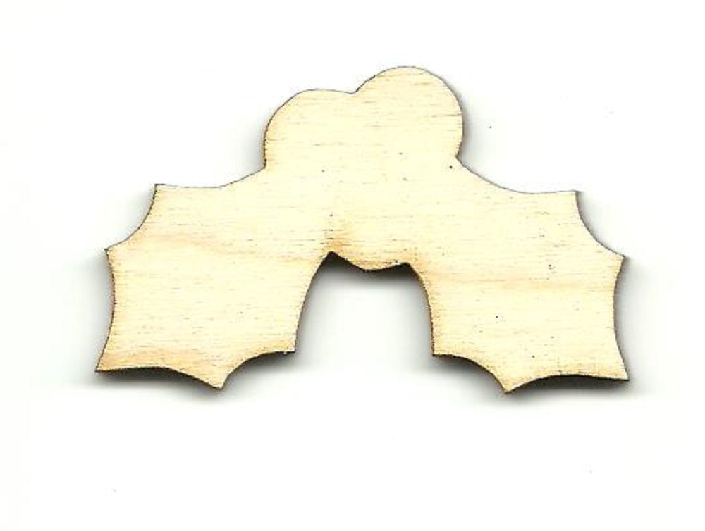 Holly  - Laser Cut Wood Shape XMS235