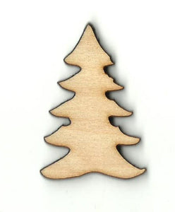 Christmas Tree - Laser Cut Wood Shape Xms58 Craft Supply