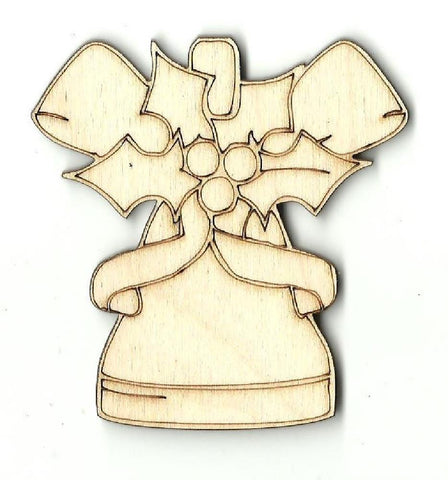 Bell - Laser Cut Wood Shape Xms6 Craft Supply