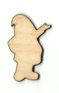 Santa Claus - Laser Cut Wood Shape Xms76 Craft Supply