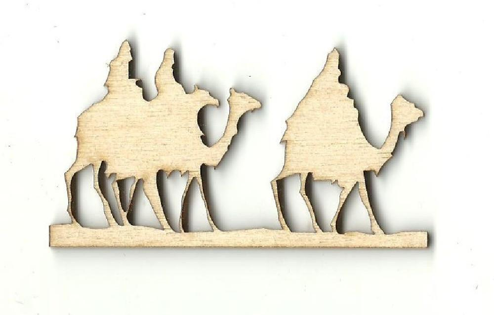 Three Wise Men - Laser Cut Wood Shape Xms144 Craft Supply