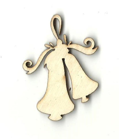 Bells - Laser Cut Wood Shape Xms91 Craft Supply