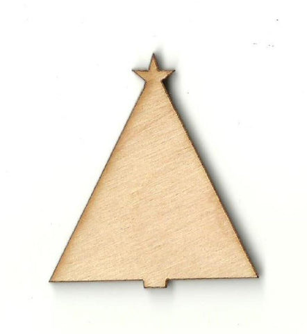 Christmas Tree - Laser Cut Wood Shape Xms92 Craft Supply