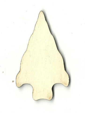 Arrowhead - Laser Cut Wood Shape Xtr26 Craft Supply