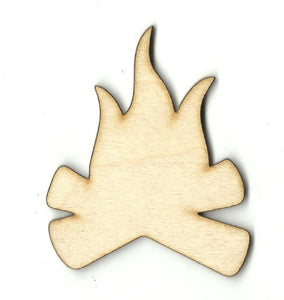 Campfire - Laser Cut Wood Shape Xtr65 Craft Supply