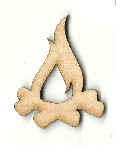 Campfire - Laser Cut Wood Shape Xtr76 Craft Supply