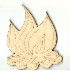 Campfire - Laser Cut Wood Shape Xtr85 Craft Supply