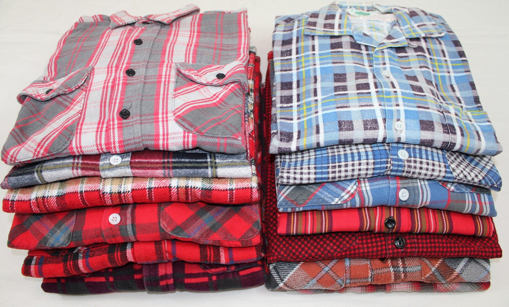 OverSized Mystery Grunge Flannels-All Sizes & Colors