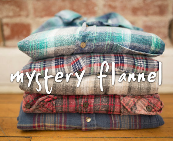 2 HoBo -OverSized Mystery Hipster Flannels-All Sizes & Colors - 2 Flannels Special!!
