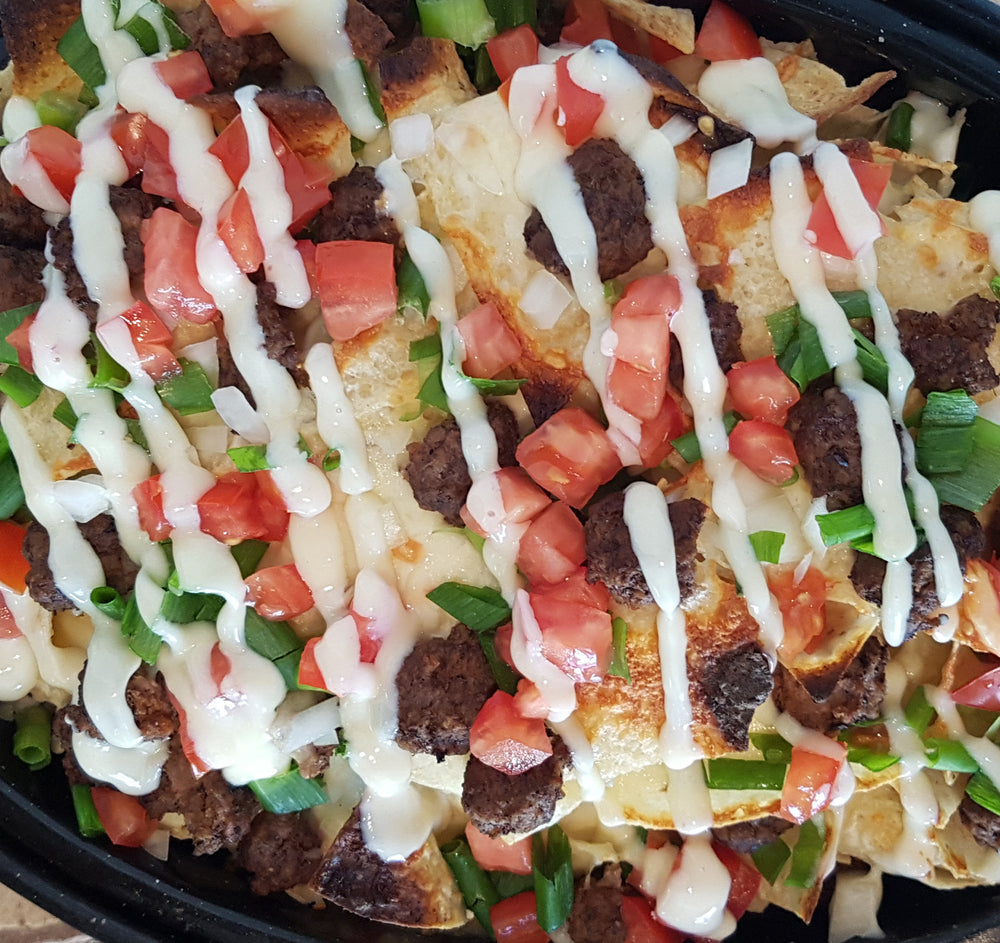 Donair Nachos Drunken Sailor