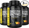 Digestive Enzymes - 180 Veggie Caps (3x 60 Veggie Caps Bottles Individually Boxed)
