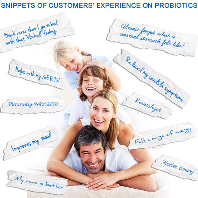 Probiotics© 50 Billion CFU Advanced Formula 100% Natural Supplement - 30 Veg Caps