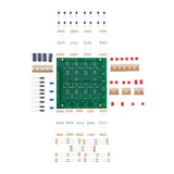 This is the Basic + LX Mini kit. It includes the basic kit plus resistors, trim pots and capacitors with values chosen to precisely give you the crossover required for the LX Mini.