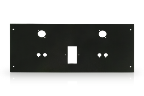"Aluminum Dissipante Substitution: ""Deluxe"" Rear Panel (Only compatible with Dissipante chassis with Aluminum top and bottom covers)"