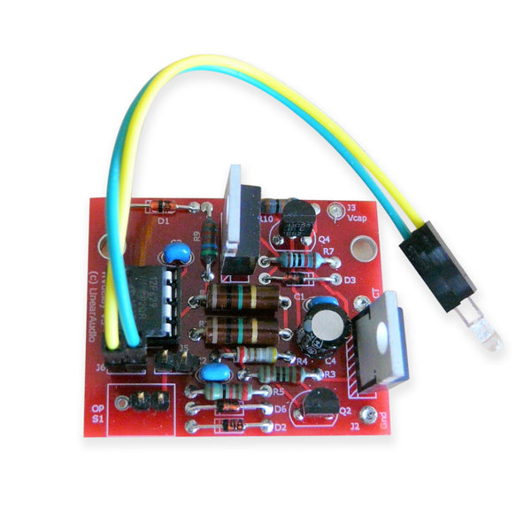 Linear Audio High Voltage Delay For Tube Amplifiers