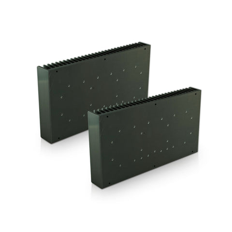 Artists impression of two 4Ux300 UMS heatsinks