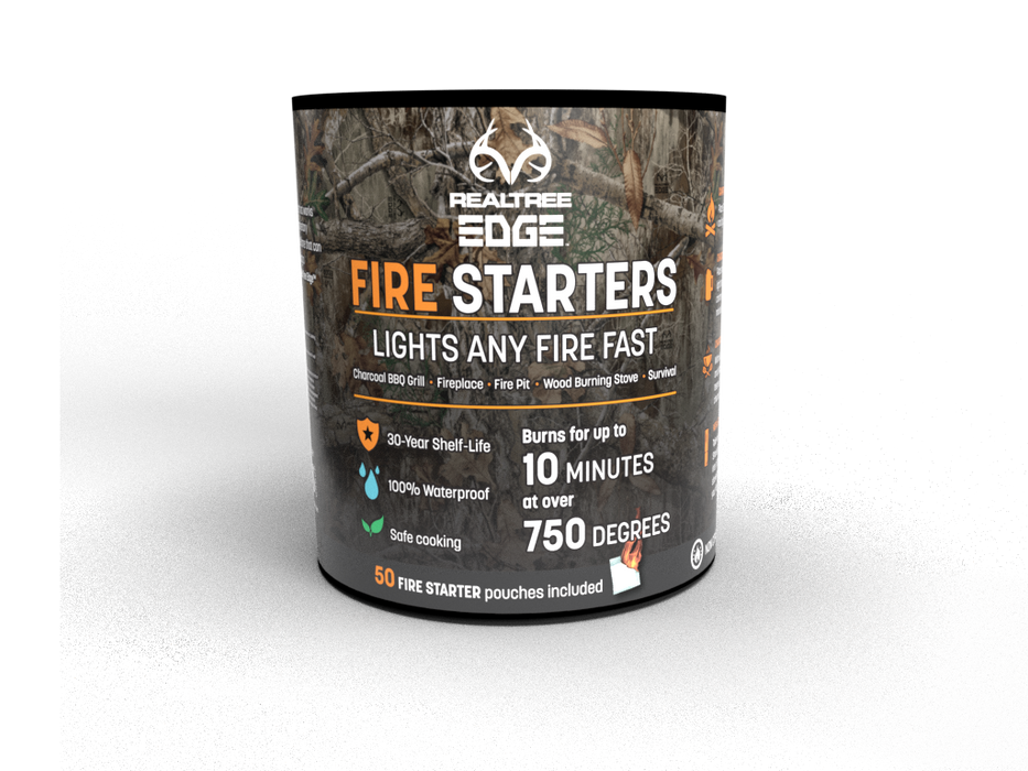 RealTree® Fire Starters (50 Piece Canister)