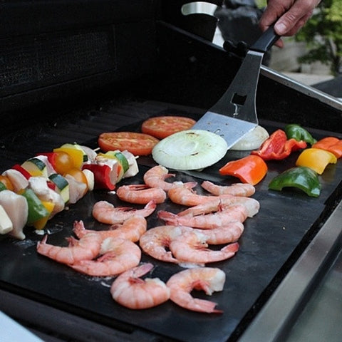 Grill It - The Original BBQ Grill & Non Stick Oven Mats (Set of 2 )