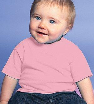 Infant Cotton Jersey Tee Pink