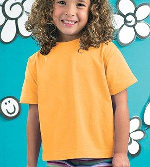 Toddler Cotton Jersey Tee Gold