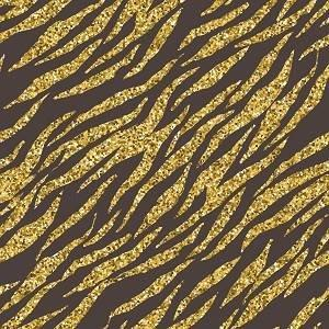 Black and Gold Tiger Stripe